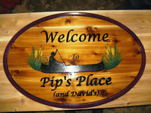 Wooden Cottage Signs, address plaques, wood carvings, house plaques